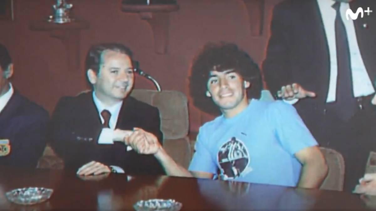 El documental sobre Maradona revela que su hepatitis era en verdad una enfermedad venérea