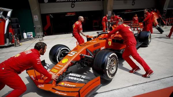 Cinco pifias y un gran acierto de Ferrari en el GP de China