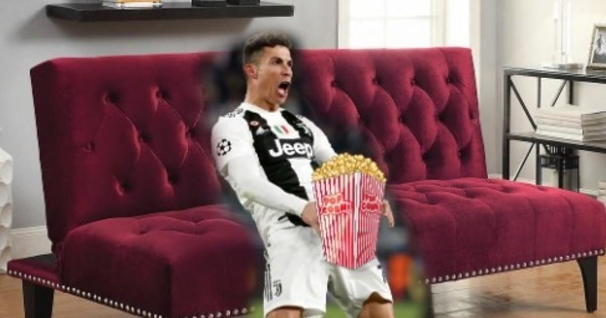 Cristiano Ronaldo se quedó afuera de la Champions y estallaron los memes