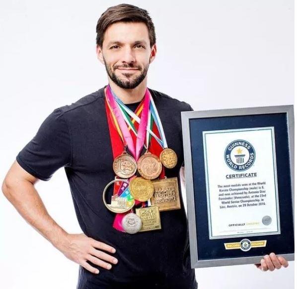karateca venezolano Antonio Díaz