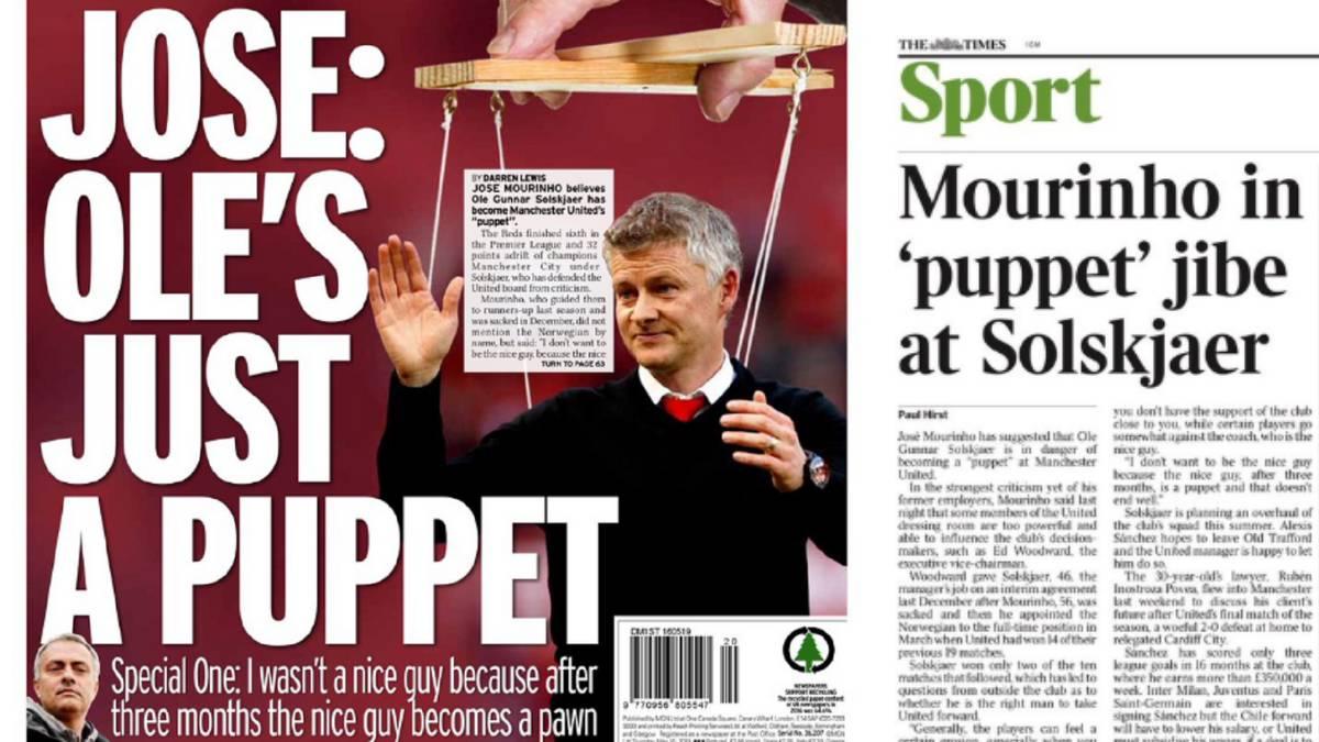 Mourinho ataca: