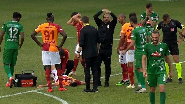 YouTube: Futbolista se rompe la pierna en Turquía y todos se ponen a llorar