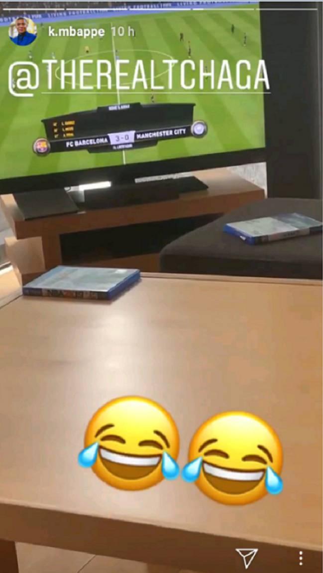 Mbappé. escoge al Barça