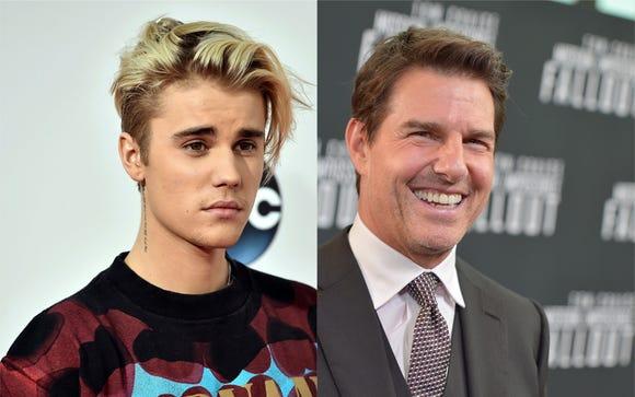 Justin Bieber desafió a pelear a Tom Cruise dentro de una jaula de MMA