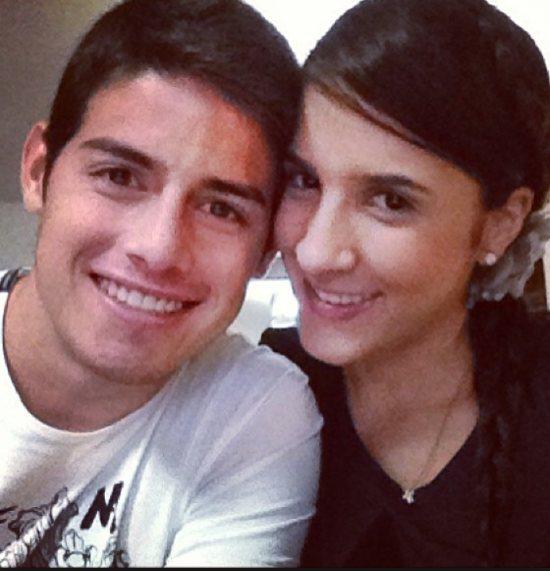 Viralizan foto de Daniela Ospina y James Rodríguez antes de operarse