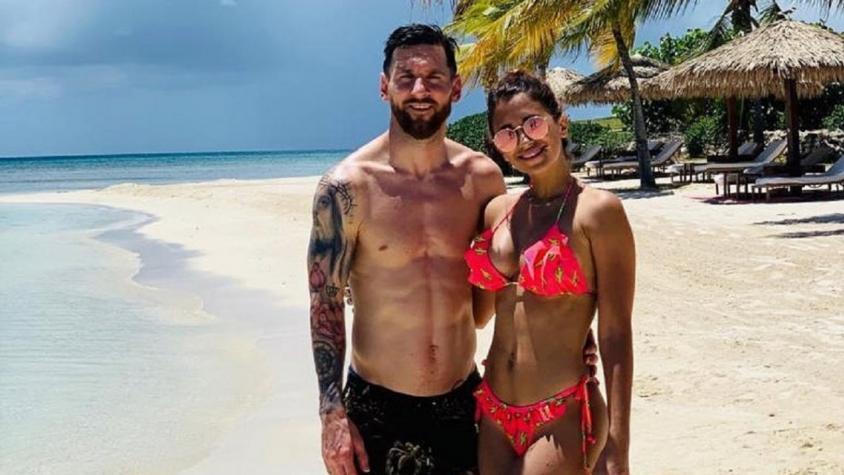 ¿Cuánto dinero gasta por día Messi en sus vacaciones?