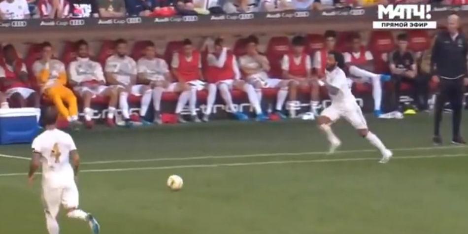 El gol de Harry Kane al Real Madrid tras grocero error de Marcelo