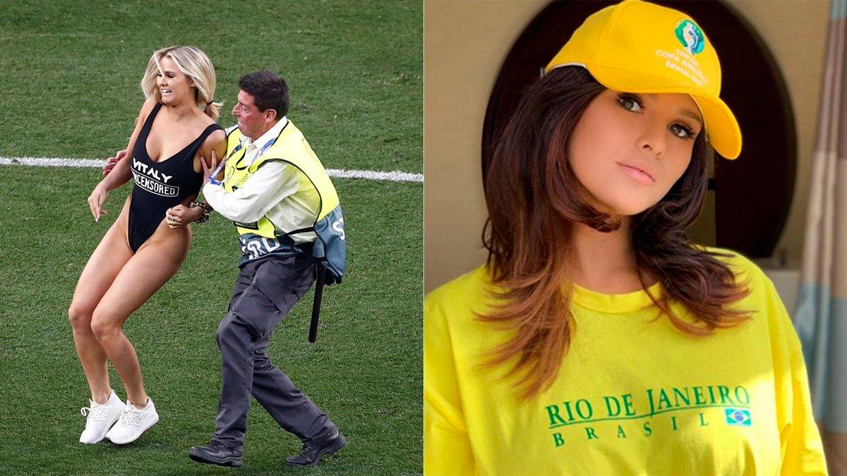 Kinsey Wolanski quiso invadir la final de la Copa América y terminó en prisión