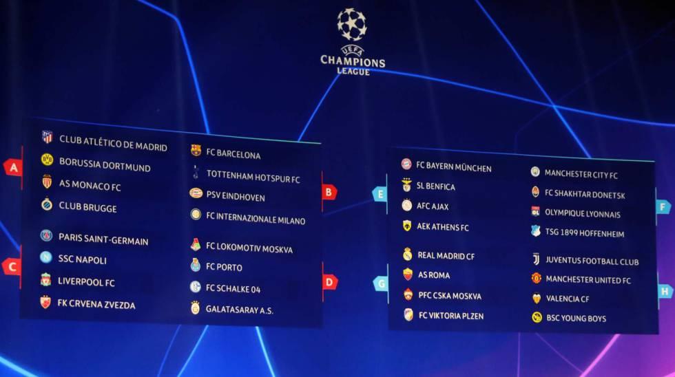 Después de simular el sorteo más de 50 millones de veces, así quedarían los grupos de la Champions