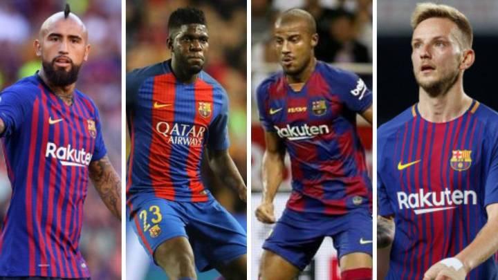 Barcelona: 4 jugadores que no saben si continuarán en el Barça