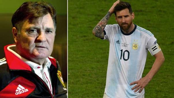 Ex entrenador del Real Madrid y de España criticó duramente a Lionel Messi.   Fuente: ABC / AFP