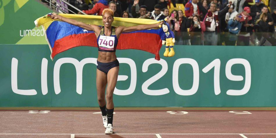 Yulimar Rojas: medalla de oro en triple salto con un récord panamericano