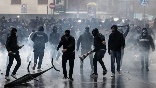 Matan de un tiro en la cabeza al histórico líder de los ultras de la Lazio