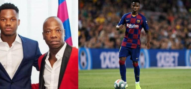 """La emoción del padre de Ansu Fati: """"Yo hoy ya me puedo morir, si muero ya no pasa nada… mi hijo ha debutado en el FC Barcelona"""""""