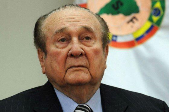 Falleció Nicolás Leoz, expresidente de Conmebol