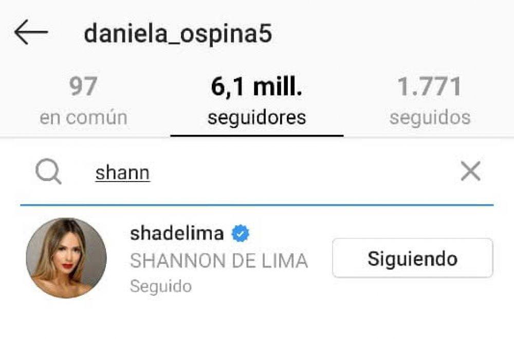 ¿Las mejores amigas? Shannon de Lima y Daniela Ospina