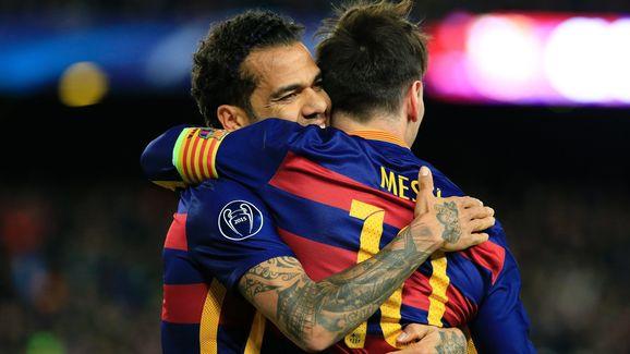 El relato de Dani Alves sobre el día que Messi humilló a la defensa del Barcelona