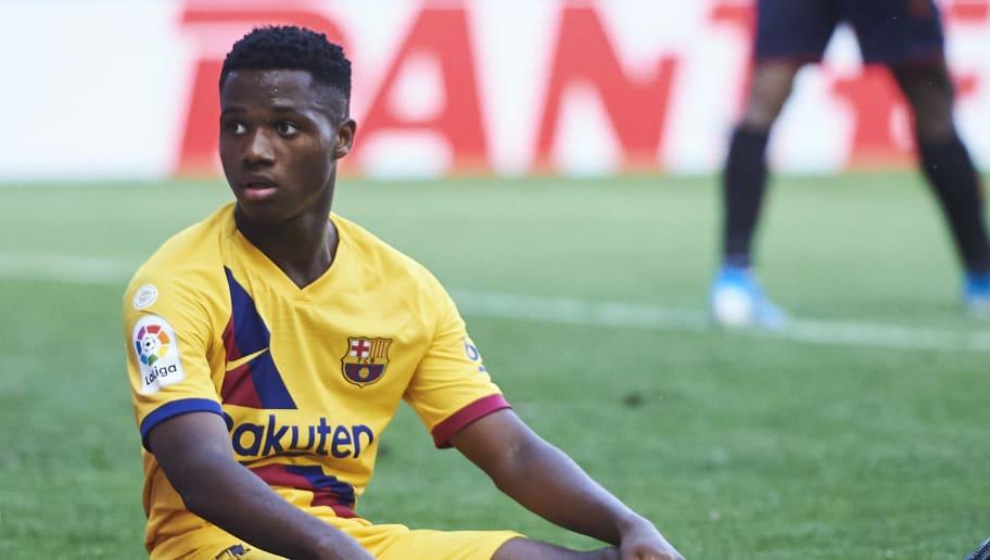 Ansu Fati no aceptó nacionalizarse portugués y jugará en la selección española