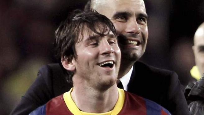 Guardiola, sobre la primera vez que vio a Messi: