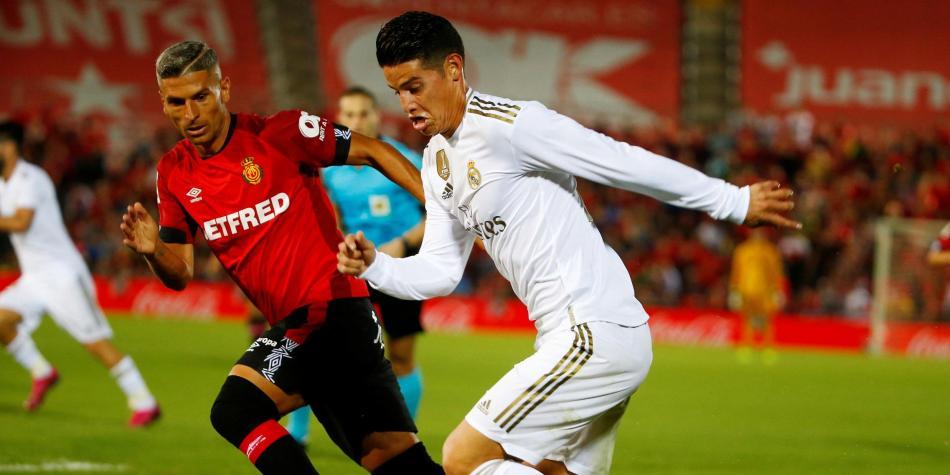 No pasó nada con James, Real Madrid perdió con Mallorca