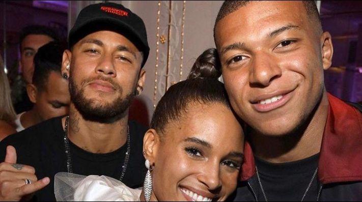 Rodeados de modelos: la fiesta a la que fueron Neymar y Mbappé tras ganar con el PSG