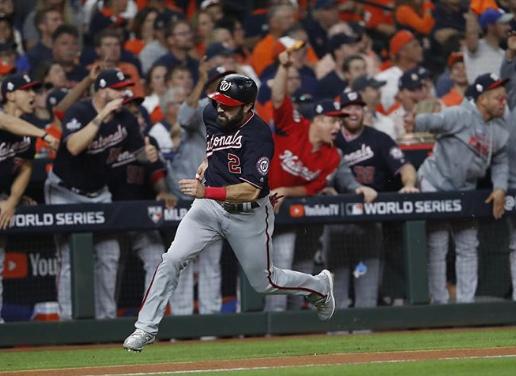 Sin piedad a los Astros: paliza de los Nacionales en el segundo de la Serie Mundial