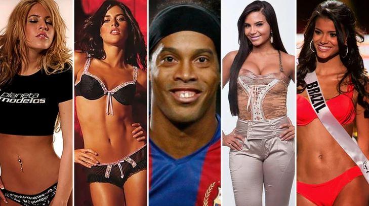 Sonrisa seductora: Las mujeres que han sido relacionadas con Ronaldinho