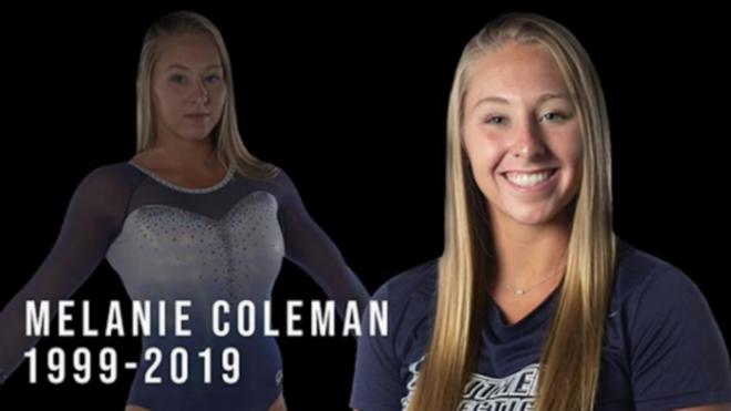 Muere la gimnasta Melanie Coleman tras sufrir una caída de las barras asimétricas