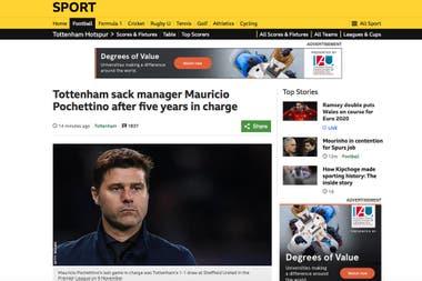 Echaron a Pochettino de Tottenham: la crítica de Lineker y el rumor sobre Mourinho