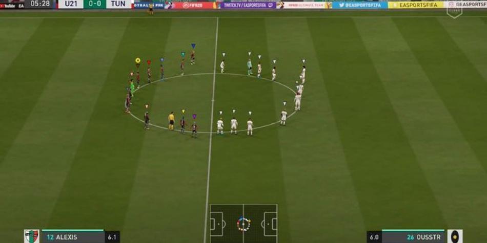 FIFA 20: el minuto de silencio en el videojuego que se hizo viral