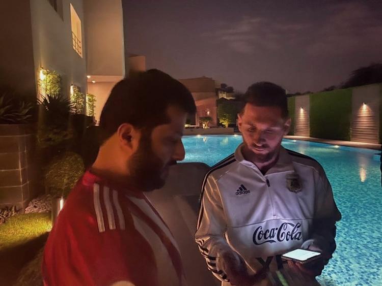 La risa de Lionel Messi al escuchar la idea del presidente de Almería para contratarlo