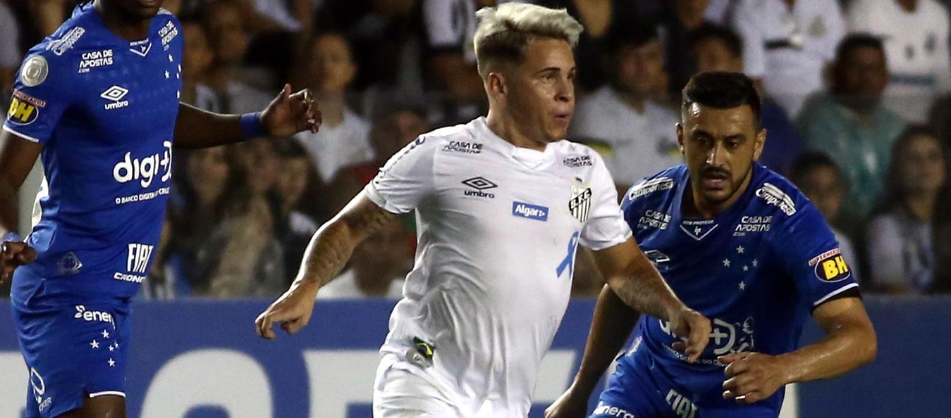 Soteldo anotó en la victoria del Santos