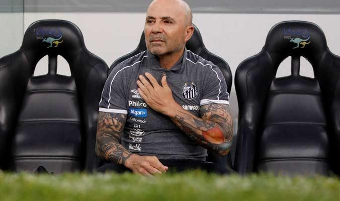 Sampaoli pidió su dimisión como entrenador del Santos