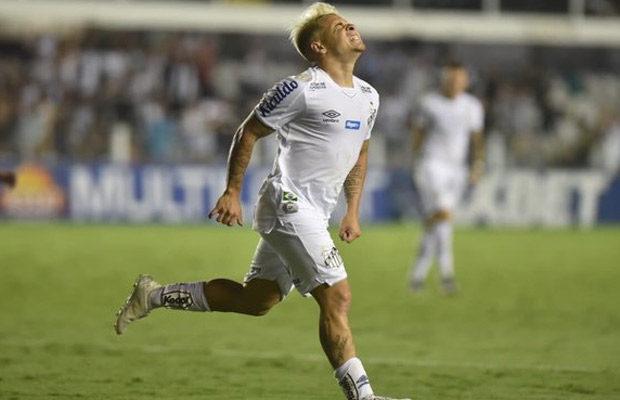 Yeferson Soteldo fue elegido como el mejor jugador del Santos FC de 2019