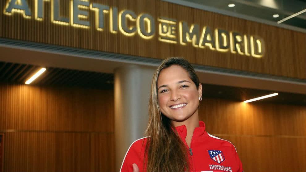 Deyna Castellanos es la nueva jugadora del Atlético de Madrid Femenino