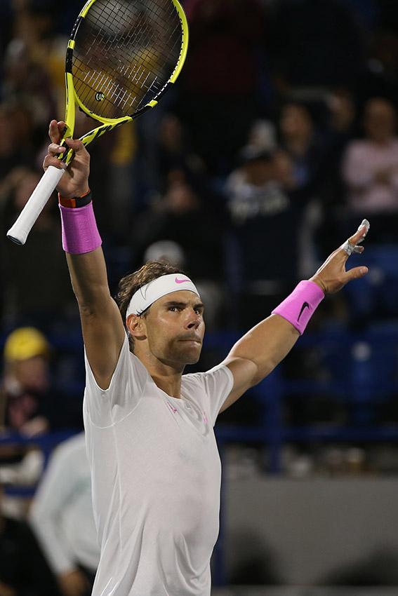 Las grandes figuras del deporte blanco entran en acción. (Foto: AFP)