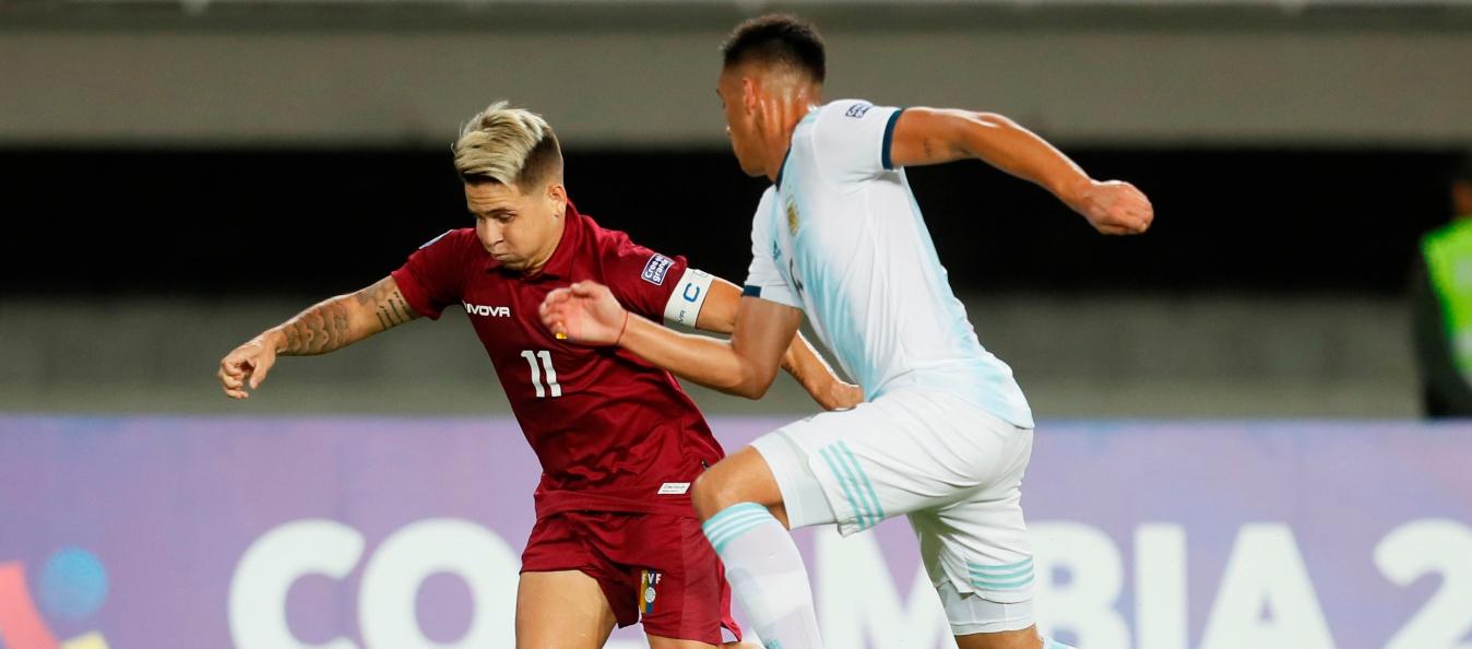 La Vinotinto cerró participación en el Preolímpico con derrota ante Argentina