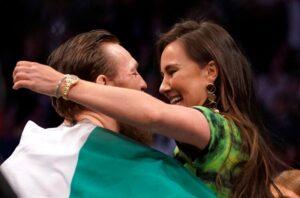 Dee Devlin, de 32 años, está en pareja con McGregor hace más de una década