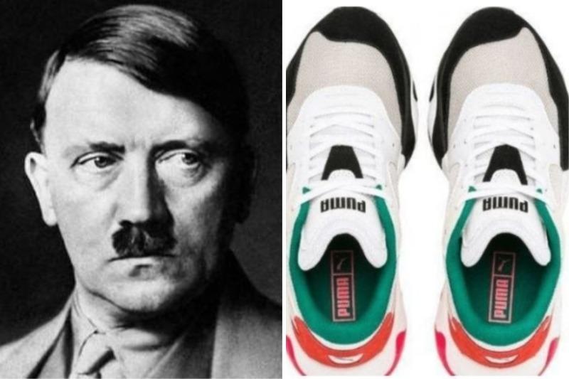"Los nuevos polémicos zapatos que lanzó Puma: En redes dicen que se ""parecen"" a Hitler"