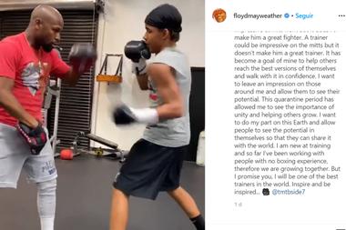 De tal palo, tal astilla: Mayweather será entrenador y ya prepara a su sobrino