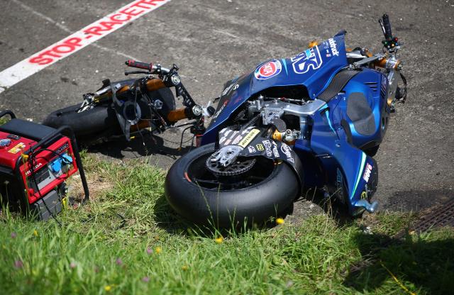 Volvió a nacer: Valentino Rossi estuvo a centímetros de un terrorífico accidente en la MotoGP