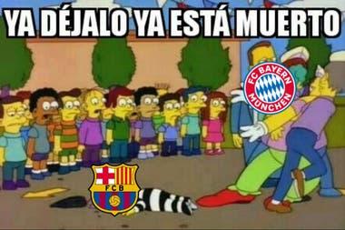 Los memes se ceban con el Barcelona tras el desastroso partido contra el Bayern