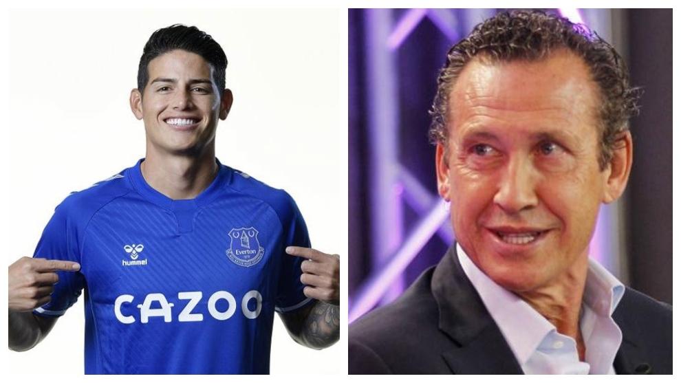 "Valdano: ""James no va al Everton, fue al Ancelotti Club de Fútbol"""