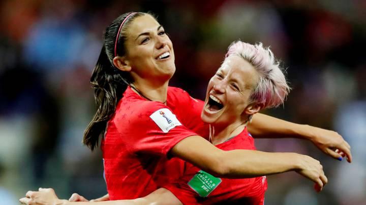 Megan Rapinoe supera a Cristiano Ronaldo en el FIFA 21