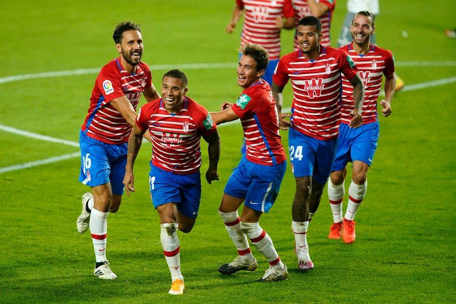 Con Machís, el Granada avanza en la clasificación de la Europa League