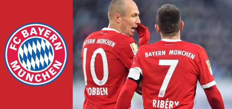 Quiénes son los herederos de los históricos dorsales de Robben y Ribéry en el Bayern Munich