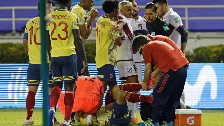 """Santiago Arias: """"Lo más impactante fue cuando me toqué el tobillo y no estaba en su sitio"""""""