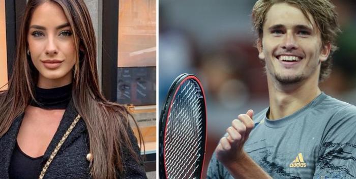 Exnovia de Zverev asegura que está esperando un hijo del tenista