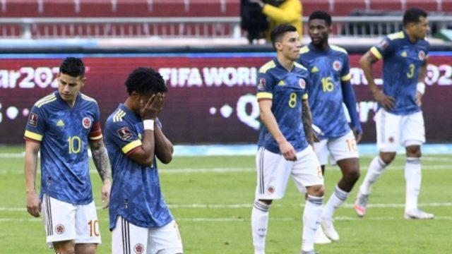 ¡Pelea en camerino de Colombia tras la goleada ante Ecuador!