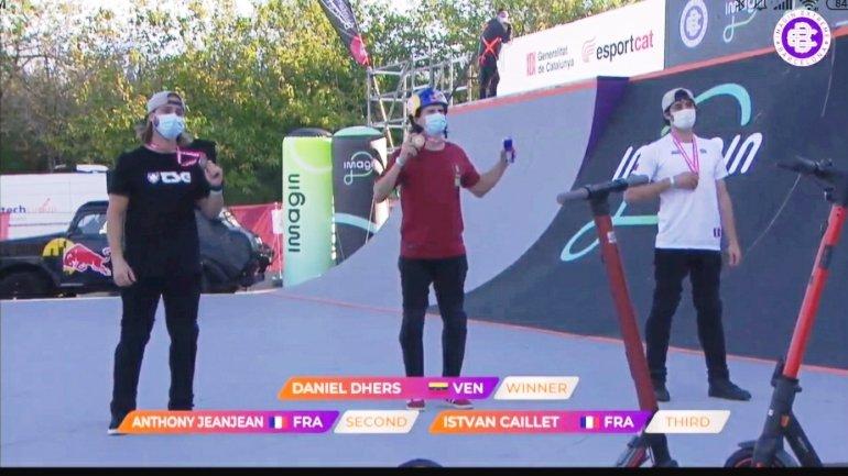Daniel Dhers conquistó el ImaginExtreme de Barcelona